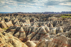 Scenic view at Badlands National Park Royalty Free Stock Photography
