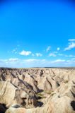 Scenic view at Badlands National Park Royalty Free Stock Photos