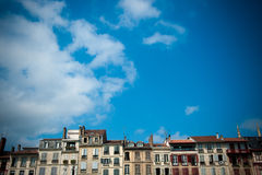 Scenic view of Bayonne in France Royalty Free Stock Photo