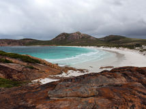 Scenic view of beach at  Esperance Western Australia. Royalty Free Stock Image