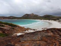 Scenic view of beach at  Esperance Western Australia. Royalty Free Stock Image