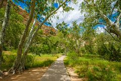 Montezuma Castle dwelling Stock Photo