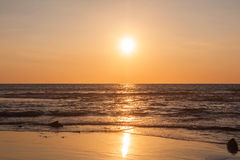 Scenic View Of Beautiful Sunset Stock Photos