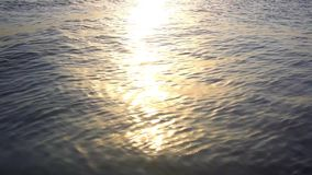 Scenic view of beautiful sunset above the sea. HD. 1920x1080 stock footage