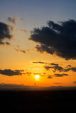 Scenic view of a beautiful sunset Stock Photos