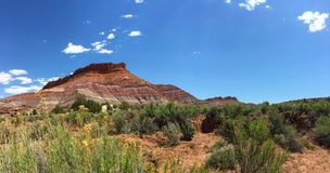 Bell Rock. Scenic view of Bell Rock, Sedona, Arizona, United States Royalty Free Stock Images