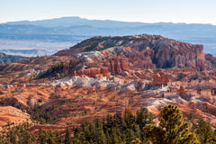 Scenic View of Bryce Canyon Royalty Free Stock Photos