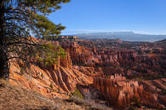Scenic View of Bryce Canyon Stock Photography