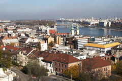 Scenic view of Budapest. Hungary Stock Images