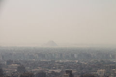 Scenic view of Cairo in Egypt Stock Photography