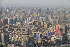 Scenic view of Cairo in Egypt Royalty Free Stock Photos