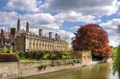 Scenic view of Cambridge city Royalty Free Stock Photos