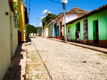 Scenic view of the city of Trinidad Cuba Royalty Free Stock Photography