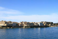 Scenic view Corfu Stock Images