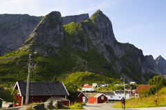 Scenic view of countryside in Norway Stock Photography