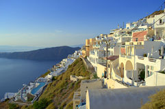 Scenic view from Cyclades,Greece Stock Photo