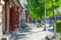 Scenic view of the Dali Old Town in Yunnan, China. It is a famous tourist destination of Asia. Stock Photo