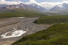 Scenic view Denali National Park Royalty Free Stock Photo