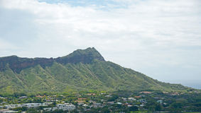 Diamond Head, Hawaii Stock Images