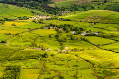 Scenic view English countryside Stock Photography