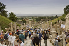 Scenic view of Ephesus site Stock Image