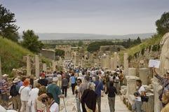Scenic view of Ephesus site Stock Image