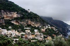 Scenic view of the famous Amalfi Coast, Italy Royalty Free Stock Photo
