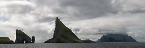 Scenic view of Faroe Islands
