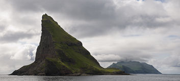 Scenic view of Faroe Islands Stock Photography
