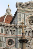 Scenic view of Florence cathedral Royalty Free Stock Image
