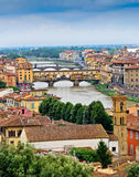 Scenic View of Florence, Italy Royalty Free Stock Photography