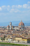Scenic view of Florence, Italy Royalty Free Stock Photo