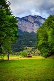Scenic view in Flums, Switzerland Stock Photos