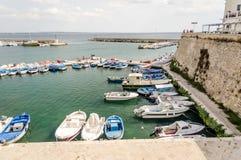Scenic view of Gallipoli, Salento, Italy Royalty Free Stock Photo