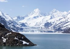 Glacier Bay Scenic View Stock Photography