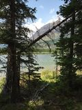 Scenic view in Glacier National Park Royalty Free Stock Photo