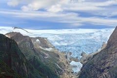 Briksdal arm of Jostedal glacier, Olden - Norway - Scandinavia Royalty Free Stock Images