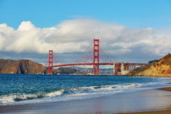 Scenic view of Golden Gate bridge in San Francisco, California, USA Royalty Free Stock Image
