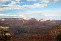 Scenic view of Grand Canyon Stock Images