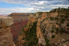 Scenic view of Grand Canyon. Landscape Royalty Free Stock Image