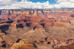 Scenic view Grand Canyon National Park, Arizona, USA. Panorama landscape sunny day with blue sky Royalty Free Stock Image