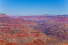 Scenic view of Grand Canyon perspective Stock Photography