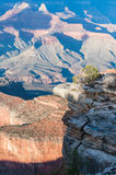 Scenic view on the Grand Canyon in USA at sunset Stock Photo