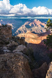 Scenic view on the Grand Canyon in USA at sunset Royalty Free Stock Image