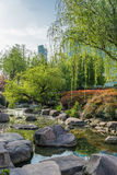 Scenic view of gucheng park shanghai china Royalty Free Stock Photos
