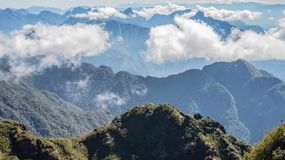 A scenic view of Heaven on earth, Fansipan highest mountain,Sapa,Vietnam. A scenic view of Heaven on earth, Fansipan highest mountain summit of Indochina in sapa royalty free stock images