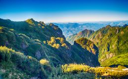 A scenic view of Heaven on earth, Fansipan highest mountain,Sapa,Vietnam. A scenic view of Heaven on earth, Fansipan highest mountain summit of Indochina in sapa stock photos