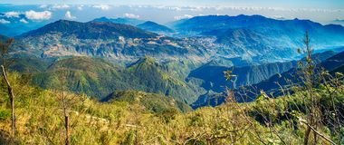 A scenic view of Heaven on earth, Fansipan highest mountain,Sapa,Vietnam. A scenic view of Heaven on earth, Fansipan highest mountain summit of Indochina in sapa royalty free stock photography