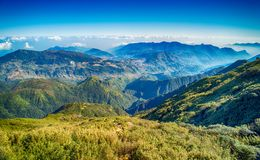 A scenic view of Heaven on earth, Fansipan highest mountain,Sapa,Vietnam. A scenic view of Heaven on earth, Fansipan highest mountain summit of Indochina in sapa royalty free stock photos