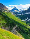 Scenic View, Highline Trail, Glacier National Park Royalty Free Stock Photo